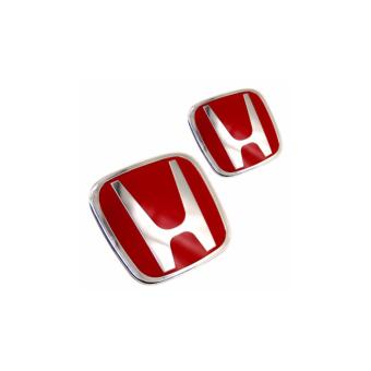 Harga Front and Rear Jazz '09-'13 Red H Emblem