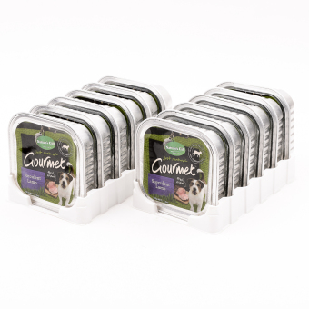Natures Gift Gourmet Succulent Lamb Tray Wet Dog Food 100g ( 12 pcs / tray) Price Philippines