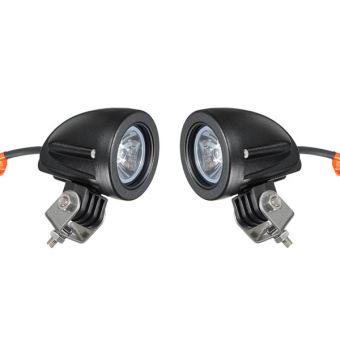 2x 10W CREE LED Work Light 900LM Spot Lamp Motorcycle Truck Bike 4WD 4X4 ATV VAN