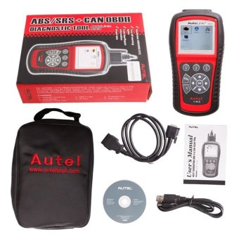Harga Autel AutoLink AL619 OBDII CAN ABS and SRS Scan Tool - intl