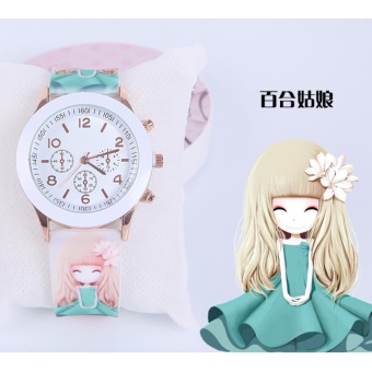 2Cool Gifts Watch Lovely Small Princess Gifts Watch for Children - intl Price Philippines