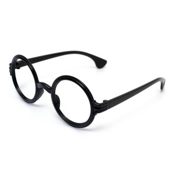 Harga Lovely Fashion Retro Round Lens-free Eyeglass Frame Decoration Kids Men Women