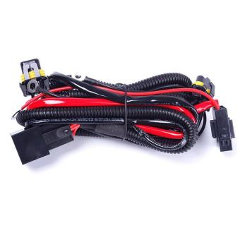 Harga BUYINCOINS New HID Conversion Light Relay Wiring Harness Kit 9005 9006 H1 H3 H7 H8 H9 H11 - intl