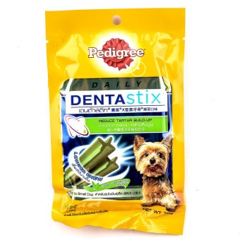 Pedigree Denta Stix Small Green Tea 6's 75gms ( 6 packs / box)
