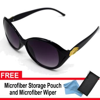Iwear Collection Women's Fashion Sunglasses 0153 (Black Lens) with FREE Microfiber Storage Pouch and Microfiber Wiper Price Philippines