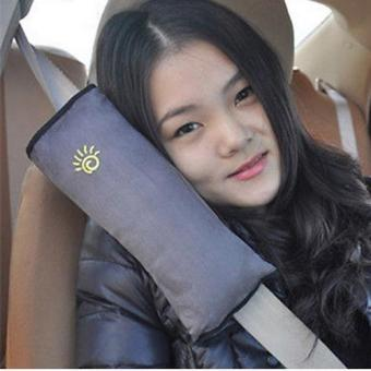 Harga Child Safety Head Rest for Seat Belt - Gray