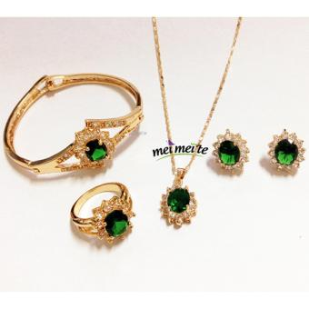 Harga 14k bangkok Emerald Fashionable Jewelry