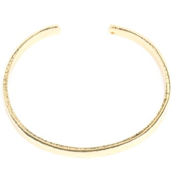 Athena & Co. Hammered Gold Bangle (Gold) Price Philippines