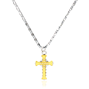 Bling Bling High School DxD Anime Asia Argento Cross Fashionable Pendant Necklace (Silver/Gold) Price Philippines