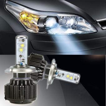 80W Turbo LED Headlight Bulbs H4 Hi/Lo Super Bright Light 7800LM 2015 New Style