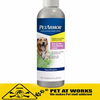 Sergeants PetArmor Skin and Paw Conditioning Lotion (8oz) for dogs and cat medicine Pet Medicine