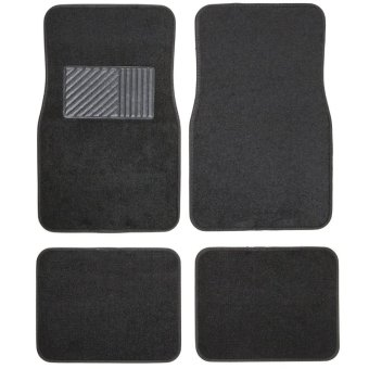 Posh Pile Exceed Universial Car Mats Set of 4 (Black) Price Philippines