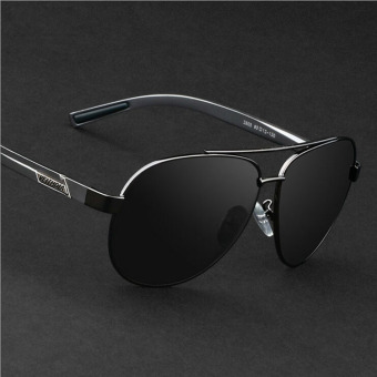 VEITHDIA 2605 Polarized Sunglasses Men gun frame gray lens Price Philippines