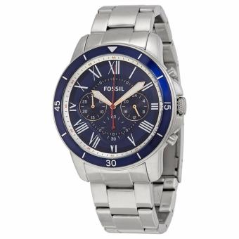 Fossil Grant Men's Silver Sport Chronograph Stainless Steel Watch FS5238 Price Philippines