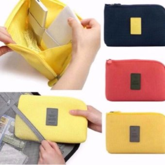 Handy Travel Gadget Organizer Pouch Color Yellor Price Philippines
