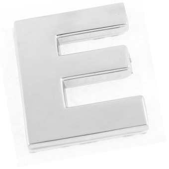 Auto 3D Letters E Sticker DIY Number Car Body Sticker Car Badge Emblem Price Philippines