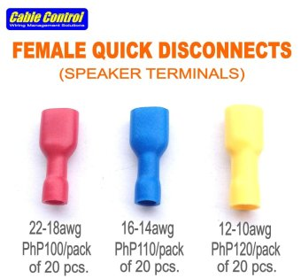 Cable Control Speaker Terminals , Female Quick Disconnects Price Philippines