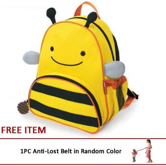 Lovely Cute Kids Backpack Toys Mini Schoolbag Children's Gifts Kindergarten Cartoon Boy Girl Baby Student Bags(Bee) Price Philippines