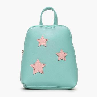Harga SM Accessories Girls Stars Backpack (Green)