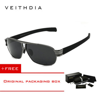 VEITHDIA Mens Sunglasses Polarized Lens Driver Sun Glasses Male Driving Fishing Eyewear Accessories for Men 8516 (Grey) [ Buy 1 Get 1 Freebie ] Price Philippines