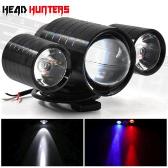 Harga U10 CREE LED - Head Hunters LED Projector 30W Head Light Driving Spot Fog Lamp with Devil Eyes Light Fog Lamp Aircraft Cannon