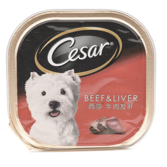 Cesar Beef and Liver Wet Dog Food 100g ( 24pcs/tray)