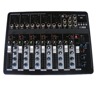 Harga MX 7000BT Professional Mixer (Black)