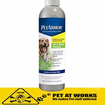 Sergeants PetArmor Itch and Allergy Shampoo (8oz) for dogs shampoo and cat shampoo