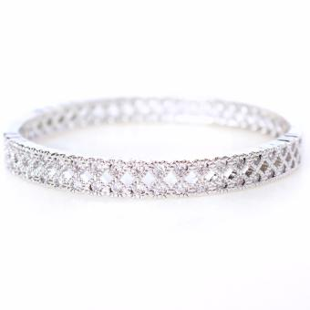 Athena and Co. 18k White Gold Plated Aria Bangle Price Philippines