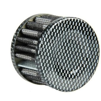 LALANG Vehicle Car Mini Cold Air Intake Air Filter Fuel Cleaner (Silver) - intl