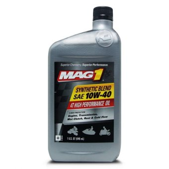 MAG 1 10W40 JASO MA2 API SL Synthetic Blend 4T Oil 1qt (946ml) PN#62971 Price Philippines
