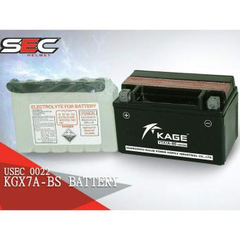 Harga Kage KGX7A-BS Motorcycle Battery 12V, 7Ah