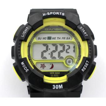 Sanse Uni-sex Watch TPU resin Strap-622 Yellow Price Philippines