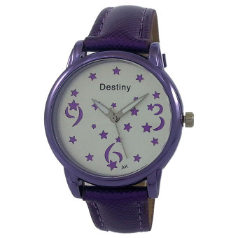 Harga Destiny Luminous Stars Women's Quartz Watch (Purple)
