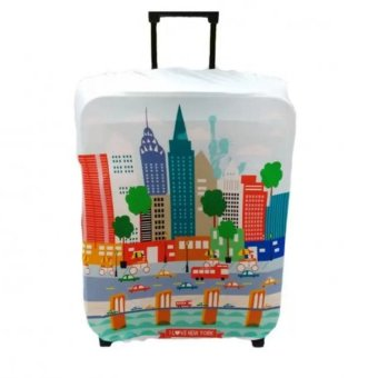 "Raffles Summer Fun Luggage Cover for 24"" Luggage (New York) Price Philippines"