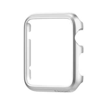 Harga For Apple Watch Case Protector Cover iWatch 38mm Skin Bumper Silver