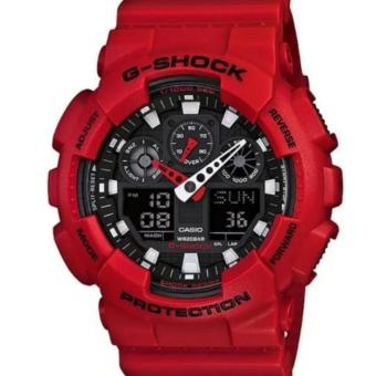Casio G-Shock GA-100B-4 Red Price Philippines