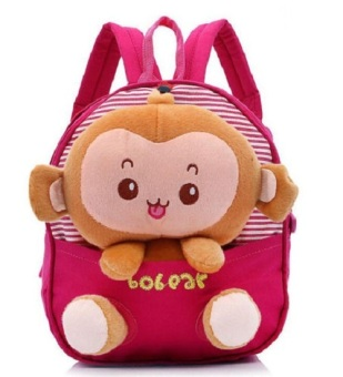 Toddler Kids Girl Boy Cartoon Backpack Schoolbag Shoulder Bags Pink - intl Price Philippines