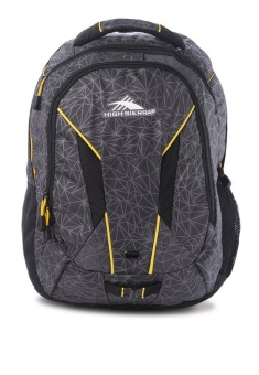 High Sierra Lynk Laptop Backpack (Mercury/ Crystals Black/ Yell-O) Price Philippines
