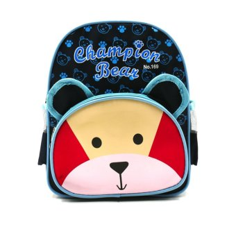 Harga HAPPY KIDS Trendy Kids Unisex Backpack Outdoor Bag (Bear Design)