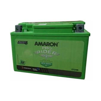 Harga AMARON Pro Bike Rider AP-ETZ9R (MF9-B) Motorcycle Battery with Warranty Maintenance Free