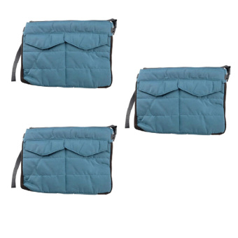 Gadget Pouch Set of 3(Blue) Price Philippines