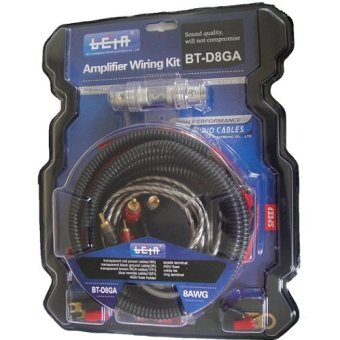 Beta BT-D8GA Amplifier Wiring Kit (Black) Price Philippines