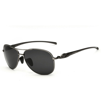 VEITHDIA 2468 Fashion Driving Polarized Sunglasses for Men Alloy Grey frame Grey lens Price Philippines