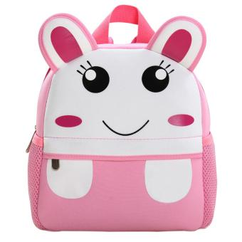 LT65 Animal Kindergarten Kids Schoolbag Children Cartoon Backpack Shoulders Bag - Bunny - intl Price Philippines