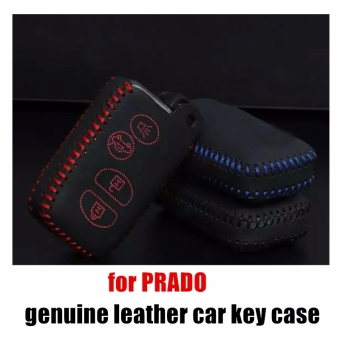 Eaglerich 101H Leather Car Key Holder Case Cover Three Keys Fit for TOYOTA OLD CAMRY CROWN REIZ PRADO - Intl Price Philippines
