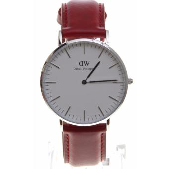 DW Daniel Wellington Suffolk Red Leather 36mm Leather Watch Price Philippines