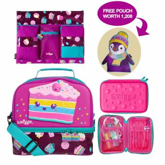 Harga smiggle city lunch box set