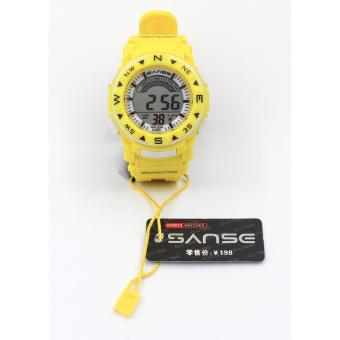 Sanse Water resistant Kid's Watch TPU resin Strap s-623 Yellow Price Philippines