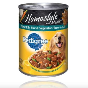 Harga PEDIGREE Homestyle Prime Rib, Rice, and Vegetable Flavor in Gravy